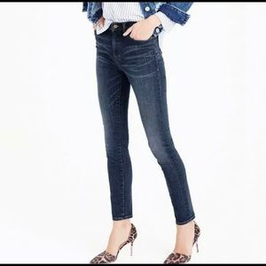 J.Crew Lookout High Rise Skinny Stretch Jeans